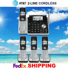 AT&T TL88102 / TL88202 2-LINE DECT 6.0 - 4 CORDLESS PHONE SYSTEM - BRAND NEW