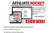 Affiliate Rocket Business Website For Sale w/ Software & Upsell + Pre Made Advrt