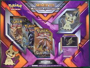 Pokemon TCG Sidekick Collection MIMIKYU Box! 3 Booster Packs 1 Foil & Dangler!