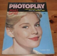 PHOTOPLAY MAGAZINE FEB 1962 TUESDAY WELD FRONT COVER ELVIS
