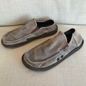 Sanuk 'Vagabond' slipper/casuals UK8/EUR42