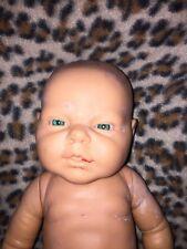 "Berjusa Reborn Realistic Anatomically Correct Life-Like 17"" Baby Doll Blue Eyes"
