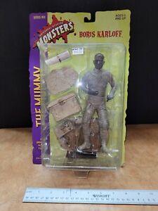 "The Mummy Boris Karloff Universal Studios Sideshow Monsters, 8"" Figure Series 1"