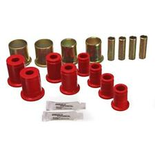 Energy Suspension Control Arm Bushing Kit 3.3119R; Red for Chevy S-Series (4WD)