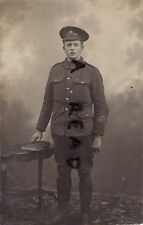 WW1 soldier Sam Cumming ASC Army Service Corps