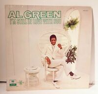 Al Green I'm Still In Love with You LP Vintage Vinyl Hi Records Looks Great!