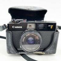 CANON A35F 35mm Point Shoot Rangefinder Camera Canonet 40mm f2.8 Tiffen 48M Sky