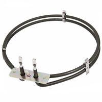 2100W 2 Turn Fan Heater Element for BEKO Oven Cooker
