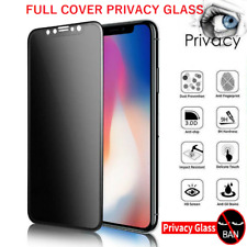 Privacy Tempered Glass Screen Protector iPhone 5 6 7 8 X SE 11 XR XS MAX 12 PRO