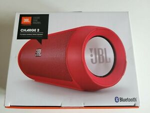 JBL Charge 2 Portable Wireless Bluetooth Speaker - Red