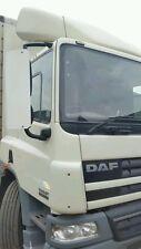 47  HGV DAF XF CF range 2000 to 2006 pair BRUSHED mirror covers guards free p&p
