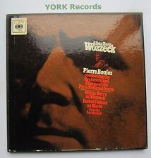 SET 3003 - BERG - Wozzeck BOULEZ / BERRY / STRAUSS - Ex Con 3 LP Record Box Set