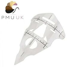 Permanent Makeup FACE RULER Microblading SPMU Stencil Symmetrical Ruler Measure