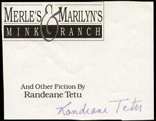 RANDEANE TETU - SIGNATURE(S)