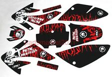 CRF70 3M Stickers Graphics Decals For Honda CRF 70 Pit Dirt Bikes Emblems faulty