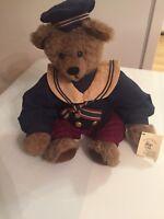 "Artist Sandy Bears ""Tyler"" Original Teddy Bear. 16"" Stuffed Plush Collectible."