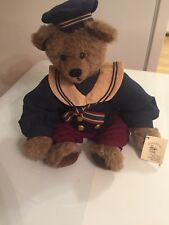 "Artist Sandy Bears ""Tyler"" Original Teddy Bear. 16"" Stuffed Plush Collectible."