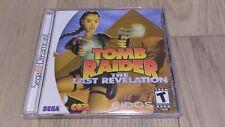 Tomb Raider: The Last Revelation (Sega Dreamcast, 2000)