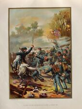 USA Army Bürgerkrieg Civil War Union Infanterie Angriff Colonel Sezssionskrieg