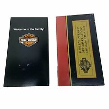 Harley Davidson Welcome To The Family VHS Video Tape Lot Out Of Print 1995, 2002