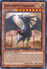 JUDGMENT DRAGON x3 Yugioh MINT SDLI-EN004 3x cards 1st