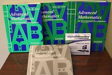 Advanced Mathematics Saxon Homeschool Kit