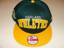 2012 New Era Oakland Athletics MLB Baseball Snapback Cap Hat 3D Applique Magic