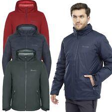 Mens Waterproof Jacket Hood Fleece Lined Premium Windproof Outdoor Coat Winter