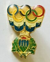 CONS Bavaria Germany Olympic Games Royal Crown Pin Badge Rare (E11)