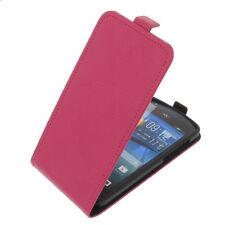 Tasche für Acer Liquid E700 FlipStyle Handytasche Schutz Hülle Flip Case Pink