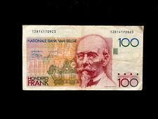 Belgien (P142) 100 Francs 1982 VF