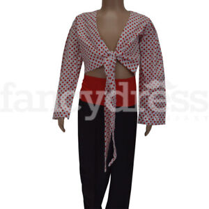 MATADOR SPANISH BULL FIGHTER CHILD GIRLS FANCY DRESS HALLOWEEN BOOK WEEK COSTUME
