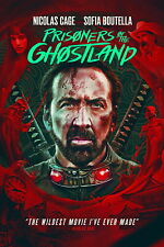 Prisoners of the Ghostland DVD Nicolas Cage Bill Moseley PRE ORDER for 11/16/21!