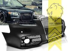 Frontstoßstange für Audi A4 B7 8E auch für S4 und S-Line Sportgrill chrom PDC