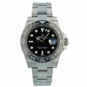 Rolex GMT Master II 116710LN Black Dial and Bezel Steel Box Papers 2016