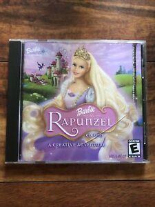 Barbie As Rapunzel Adventure PC CD-ROM A Creative Adventure Game (Windows, Mac)