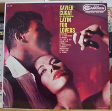 XAVIER CUGAT AND HIS ORCHESTRA LATIN FOR LOVERS CANADA PRESS LP RCA CAMDEN 1959