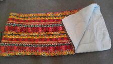 Vintage 1970s Sleeping Bag Geometrical Aztec Design Buddy Schoellkopf Dacron