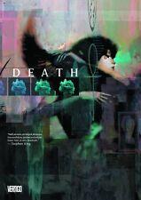 Death Deluxe GN Neil Gaiman Chris Bachalo Gallery Sandman 8 Dave McKean New NM