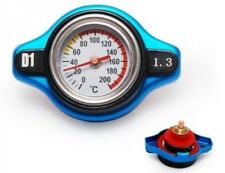 Racing Aluminium Radiator Cap inc Water Temp Gauge | 1.3bar - Honda, Mitsubishi
