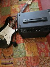More details for yamaha pacifica 012 electric guitar (with amp)
