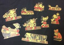 "1930's Post Toasties Cereal Box Walt Disney""Mickey Mouse"" lot of 10 cut outs Wde"