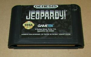 Jeopardy for Sega Genesis Fast Shipping! Authentic