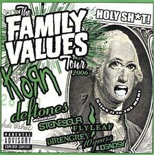 Family Values Tour 2006 [PA] by Various Artists (CD, Dec-2006, Firm Music)