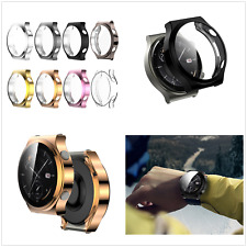 For Huawei Watch Gt2 pro Plated Frame Cover Shell Screen Protector Watch Case