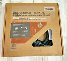 Generac 6328 25 30a Portable Generator Extension Power Cord With L14 30 Ends