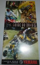 YAMAHA CATALOGUE 1997 /98 QUAD WARRIOR BANSHEE YFM YFB 4X4 RANDONNEE COMPETITION