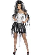 Femmes Halloween Mariée Fantôme Costume Déguisement par Smiffys