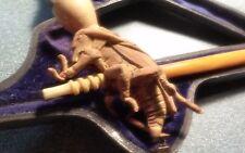 "Meerschaum Antique Pipe Locust Grasshopper c.1880s Smoking Pipe in Case. 4.5"" L."