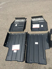 Mini 4 Full Floor Repair Panels 2 x Front 2x Rear MK1 MK2 MK3 models.